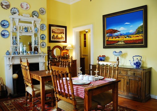 Swellendam Accommodation Braeside Guest House - dinning Room