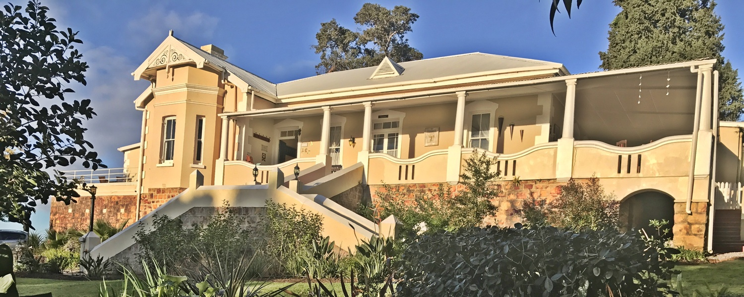 Braeside Guesthouse Swellendam, Historic building built 1901 and a heritage site