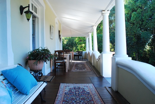 Swellendam Accommodation Braeside Guest House Patio View